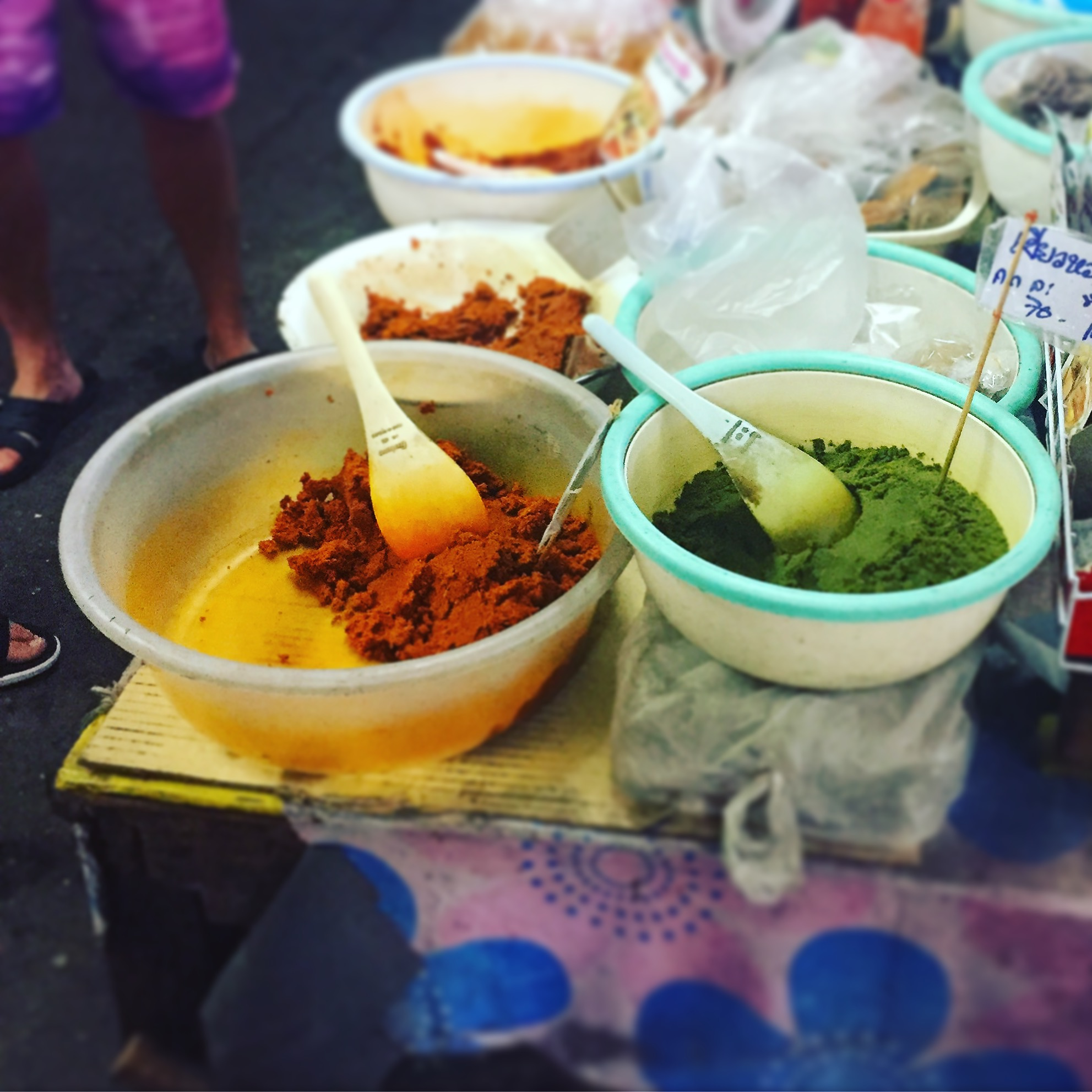 The local food market - Ming Muang Market