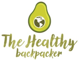 The Healthy Backpacker Logo