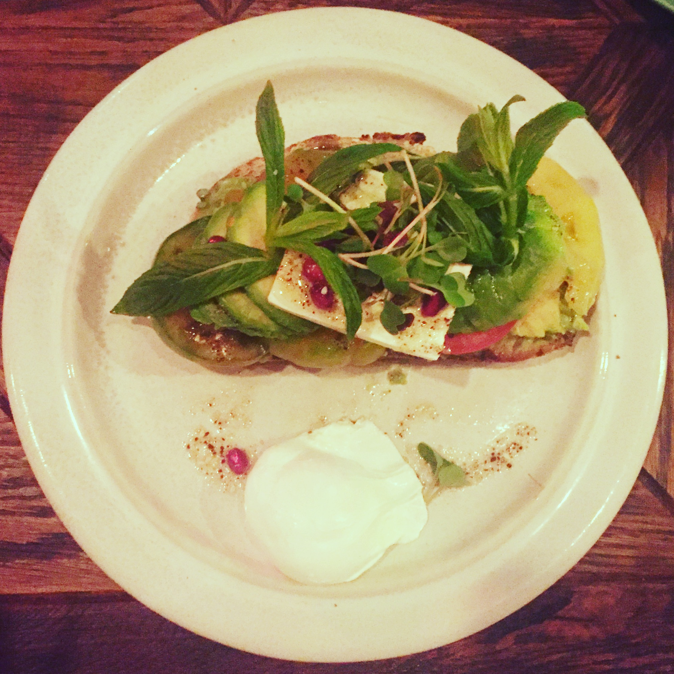 Avo Toast @ The Grounds of Alexandria